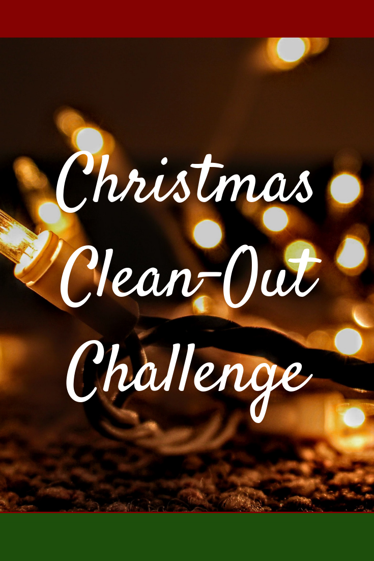 Join me this holiday season for the christmas clean-out challenge. donate 25 things to declutter your own life, and give back to someone who needs it.