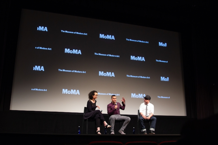 MoMA Q&A hosted by Gary Hustwit.