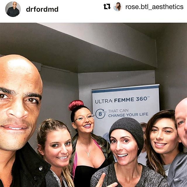 #Repost @rose.btl_aesthetics with @get_repost ・・・ #tbt to training with one of our favorite clients @drfordmd at the @drfordwellness in West Hollywood! Dr. Ford has brought on our Exilis Ultra Femme 360 which kills fat, tightens skin, rebuilds collagen, and offers Femme Rejuventation; literally a full body transformational product! @mike.glam_solutions and I are ecstatic to see how happy Dr. Ford's patients will be 💖