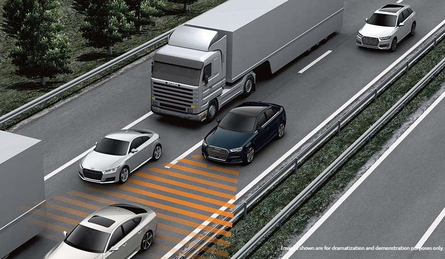 Audi adaptive cruise control with stop & go