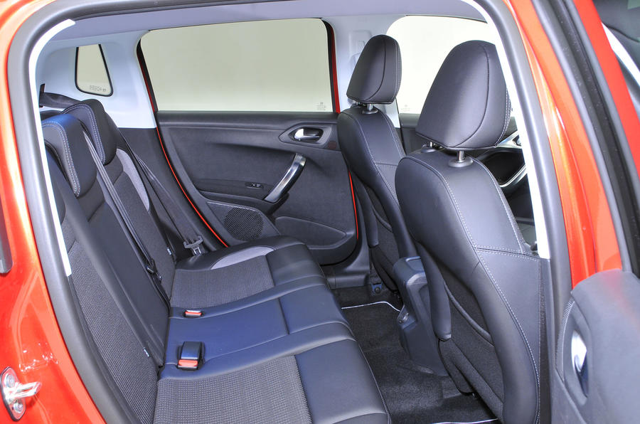 supportive & adjustable driver and passenger seats