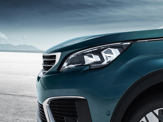 Signature headlamps with LED daytime running light technology