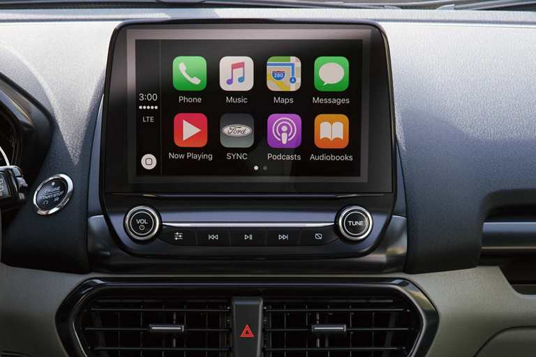 Available SYNC® 3 with 8-inch touchscreen