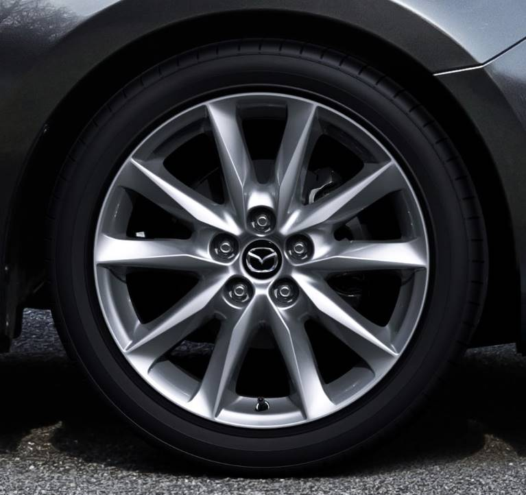 The sleek and stylish available 18-inch alloys are sure to turn heads as quickly as they turn corners.