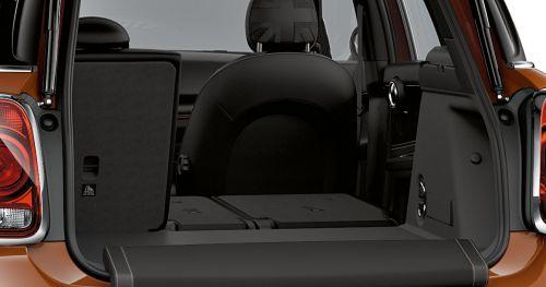 Split-folding rear seats