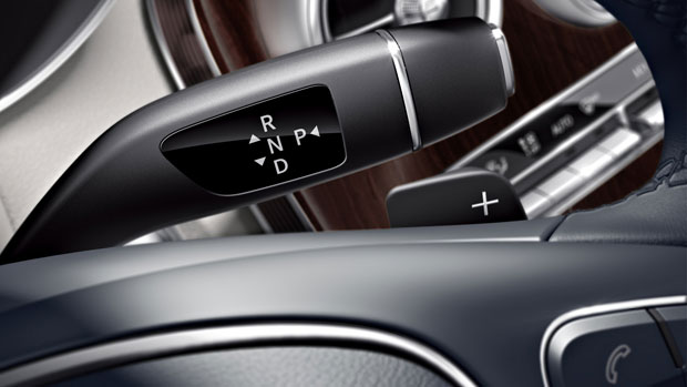 Two overdrive ratios enhance highway fuel-efficiency.