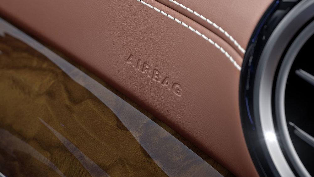 9-way air bag protection