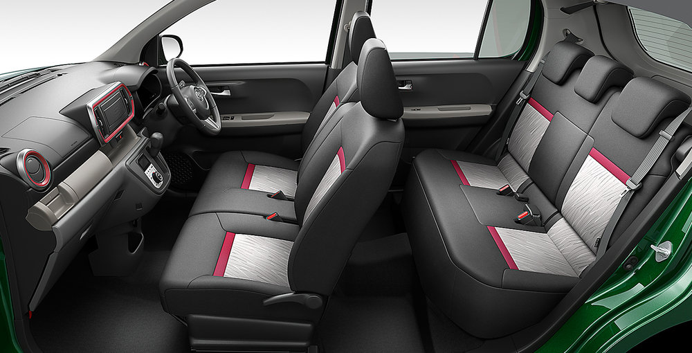 Spacious Interior with Functional Seating