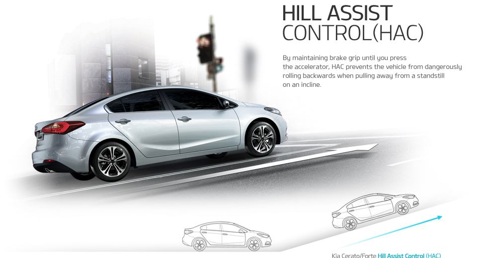 Hill Assist Control