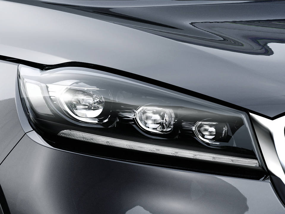 LED Headlights with Auto-levelling