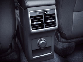 Rear AC vents and 12V accessory socket