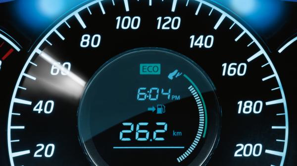 Eco Pedal Dial
