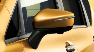 Premium sculpted wing mirrors
