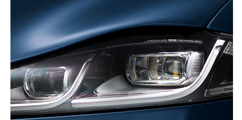 Powerful and efficient full LED headlights