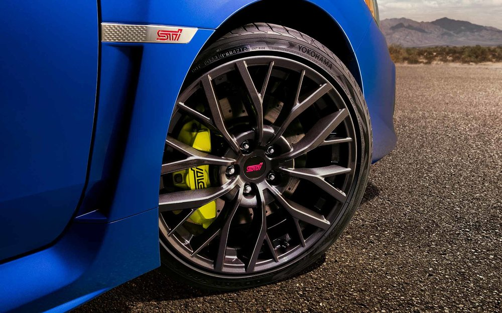 Lightweight 19-inch Wheels