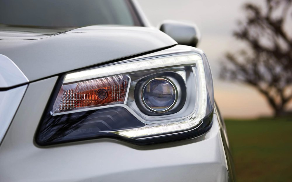 LED Steering Responsive Headlights and High Beam Assist