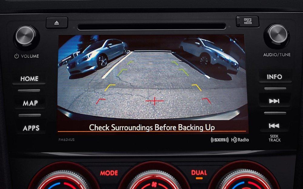 Rear-Vision Camera and Reverse Automatic Braking