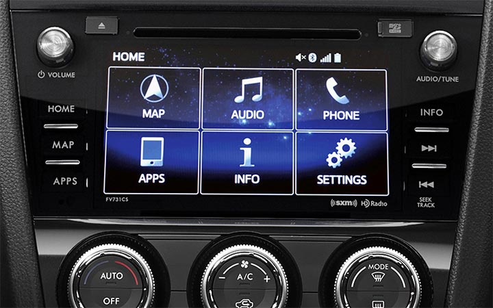 Subaru STARLINK Multimedia