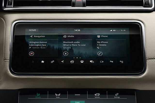InControl features extend Range Rover Velar connectivity and infotainment