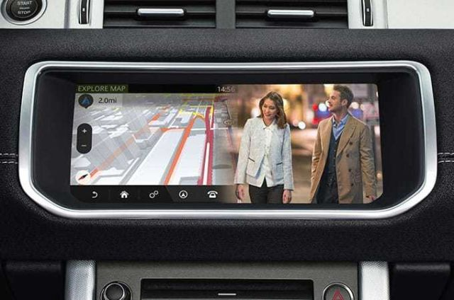 "Dual View system allows the driver and passenger to view completely independent content on the 10"" Touchscreen"