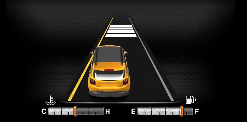 Driver assist: Lane-sense lane departure warning-plus
