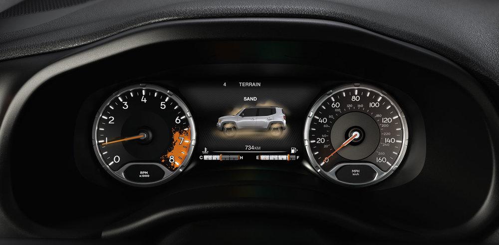 Informative Speed Meter