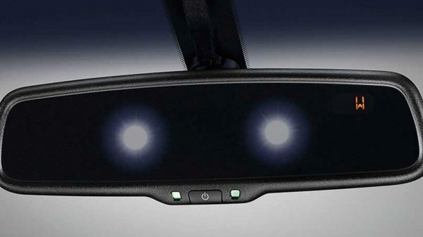 The convenient auto-dimming rearview mirror