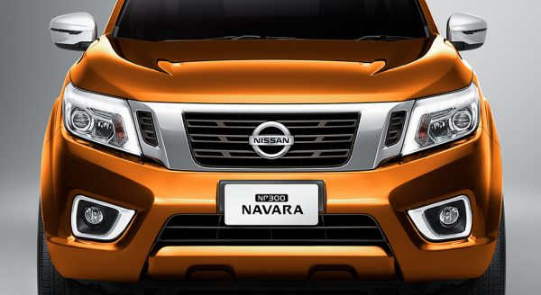 Featuring an aggressive chrome grille, the Nissan NP300 Navara is no pushover