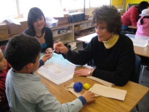 Diane Lapp w/students.jpeg