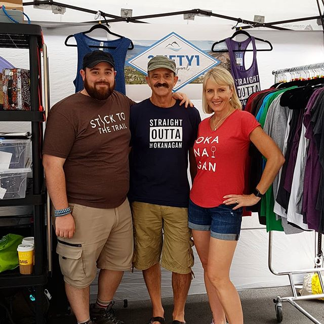 Come on down and see us at the Penticton Market today until 1:30pm on the 300 Block! We'd love to see you. Only 2 Penticton Market left for us this year! • • • #351apparel  #marketdays  #marketlife #chillymornings #fall  #havingfun #marketapparel #okanaganite  #okanaganapparel