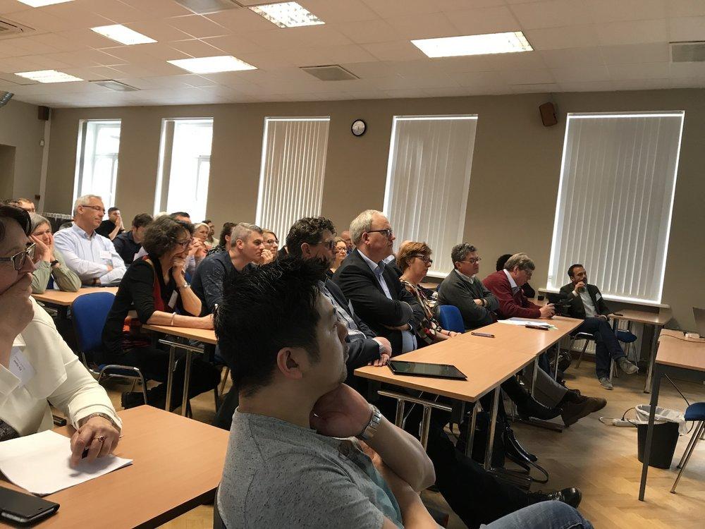 Klassieke lesopstelling - Estonian Entrepreneurship University of Applied Sciences
