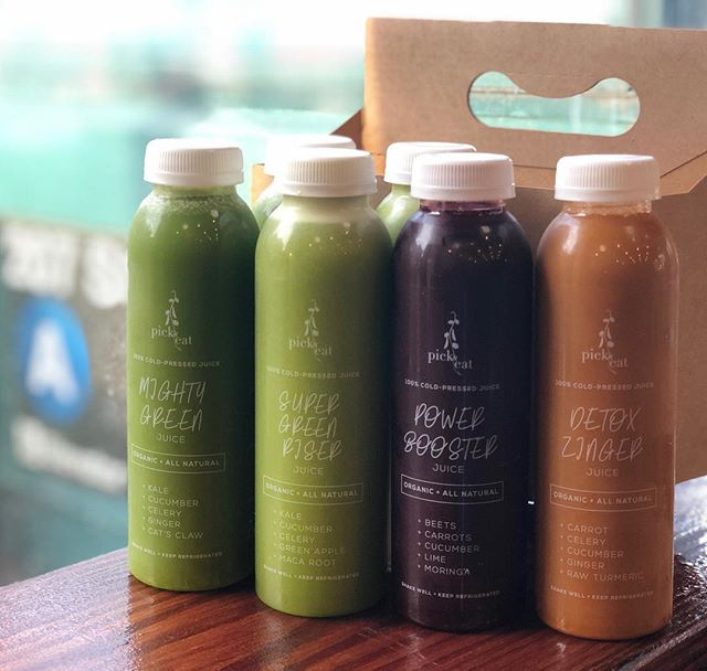 Our next gem is coming soon this month.. Green and veggie juice enhanced with power food roots and all organic ingredients.. Stay tuned at mypickandeat.com  #juice #organic #macaroot #catsclaw #moringa #tumeric #wahi #juicing #juiceforlife