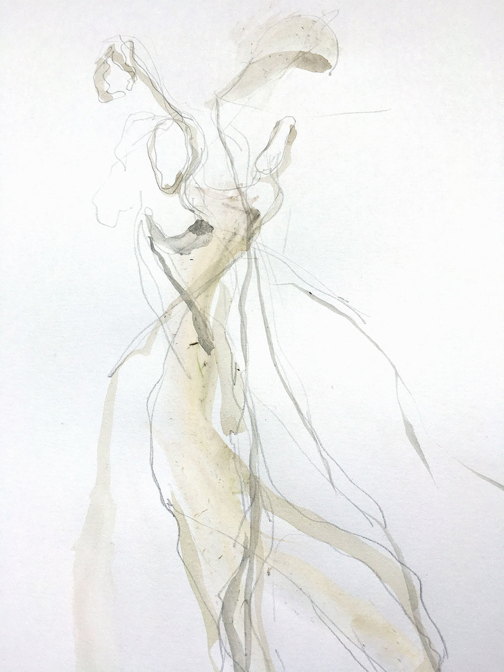 Early sketch by Helen Storey, 2016  -