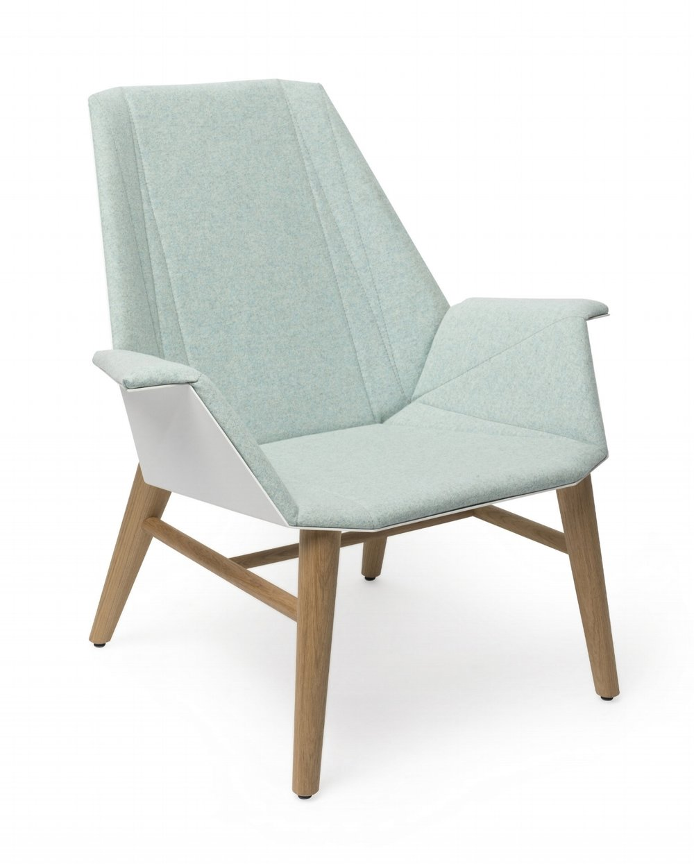 Alumni Lounge Wood white light blue upholstered_side angle.jpg