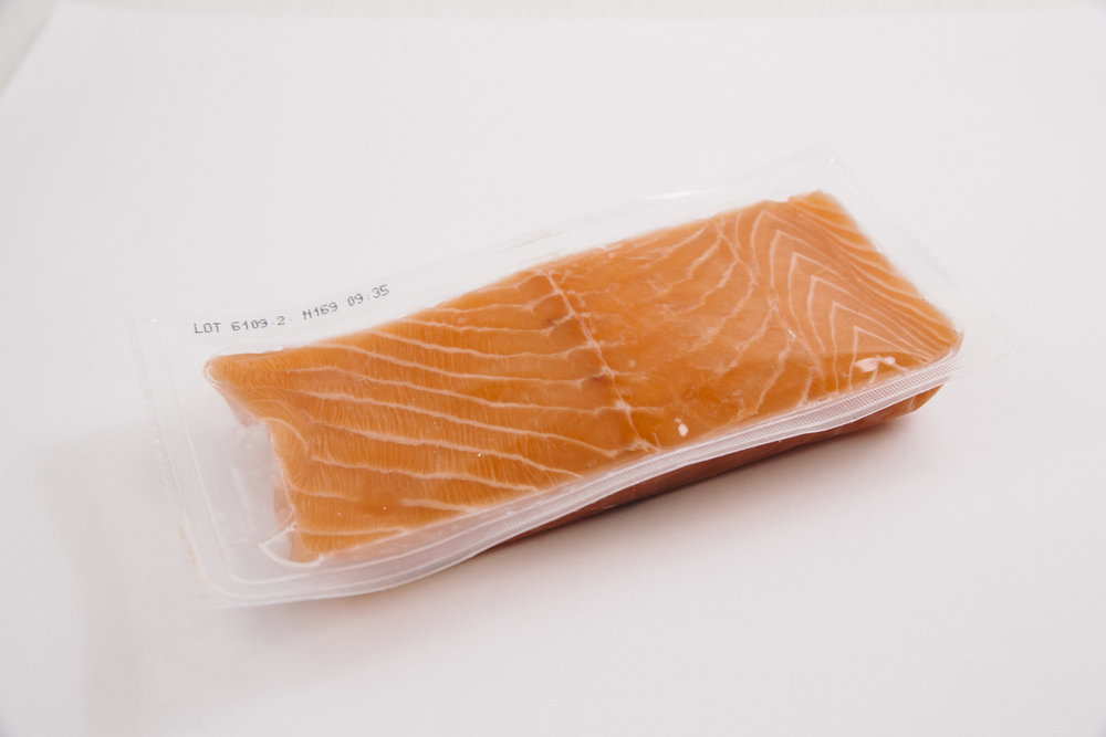 Single pack portion   100g - 300g, Individually vauum packed (IVP), individually quick-frozen (IQF)