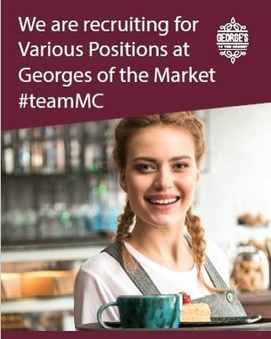 We Are Recruiting!  Various positions available, must be able to work Friday, Saturday &Sunday!  See www.mountcharles.com/careers for more information on how to apply! . . #teammc #positionsavailable #careeropportunities