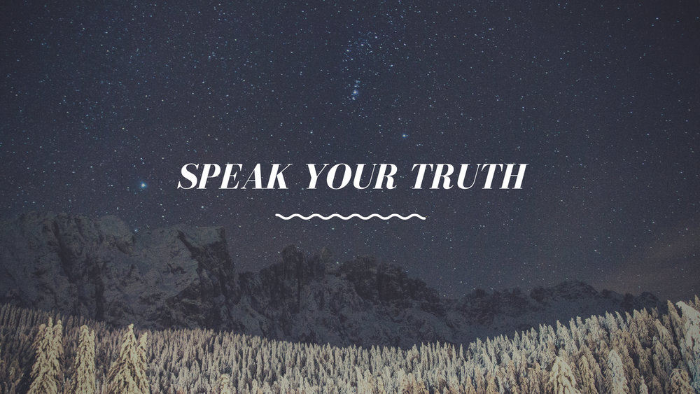 Type 9 - Speak Your Truth