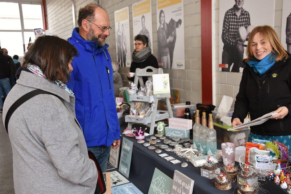 Landfrauen begeisterten auch am Kreativmarkt mit ihren Handwerkskünsten - echt beeindruckend, was Ihr präsentiert habt!