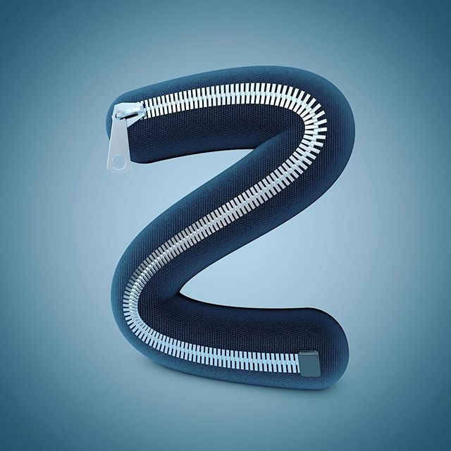 Z for Zipper. Last for me this year, Thanks for watching 👍 #36daysoftype #36days_Z #36daysoftype05 #typography #cinema4d #c4d #graphicdesign #mograph #experimental #typographylove #dailytype #typeinspire #3dfordesigners #graphicoftheday #dailytype #showusyourtype #dailyrender #dailylettering #alphabet #photoshop #everydaytype #lovetype