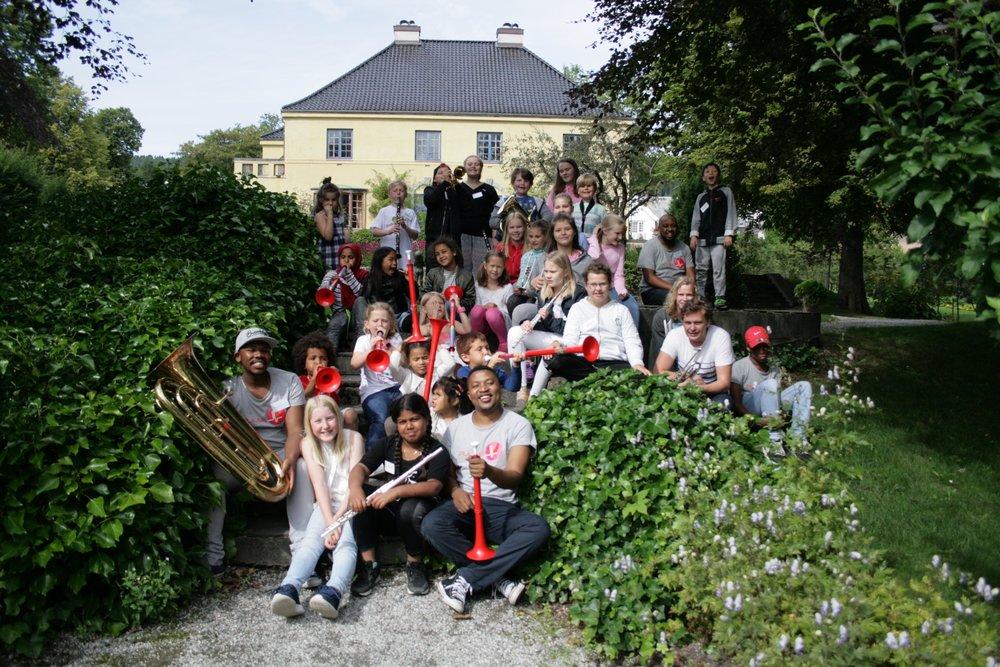 Deltakere på Norges Musikkorps Forbunds SommerPULSE 2017 i Molde