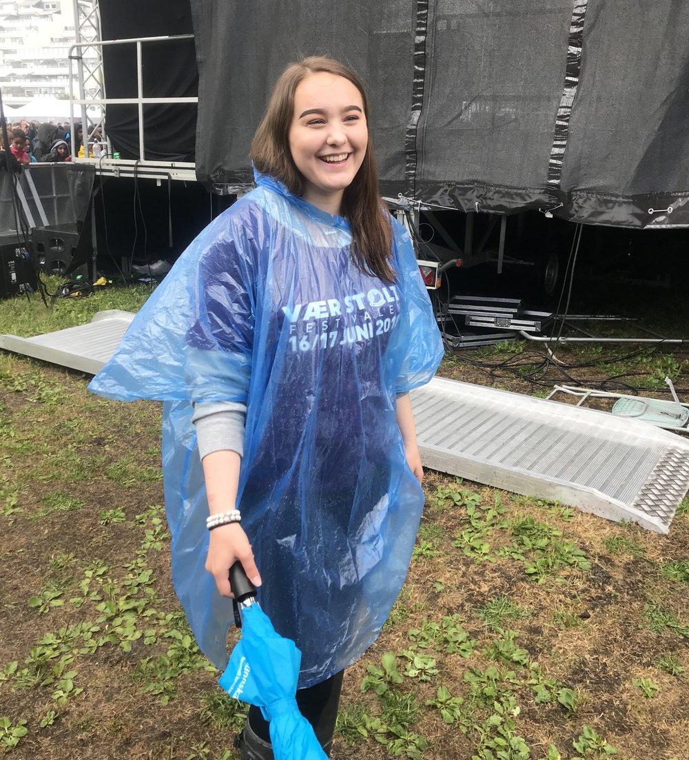 Christine Monge vil tilbake som frivillig også neste år!