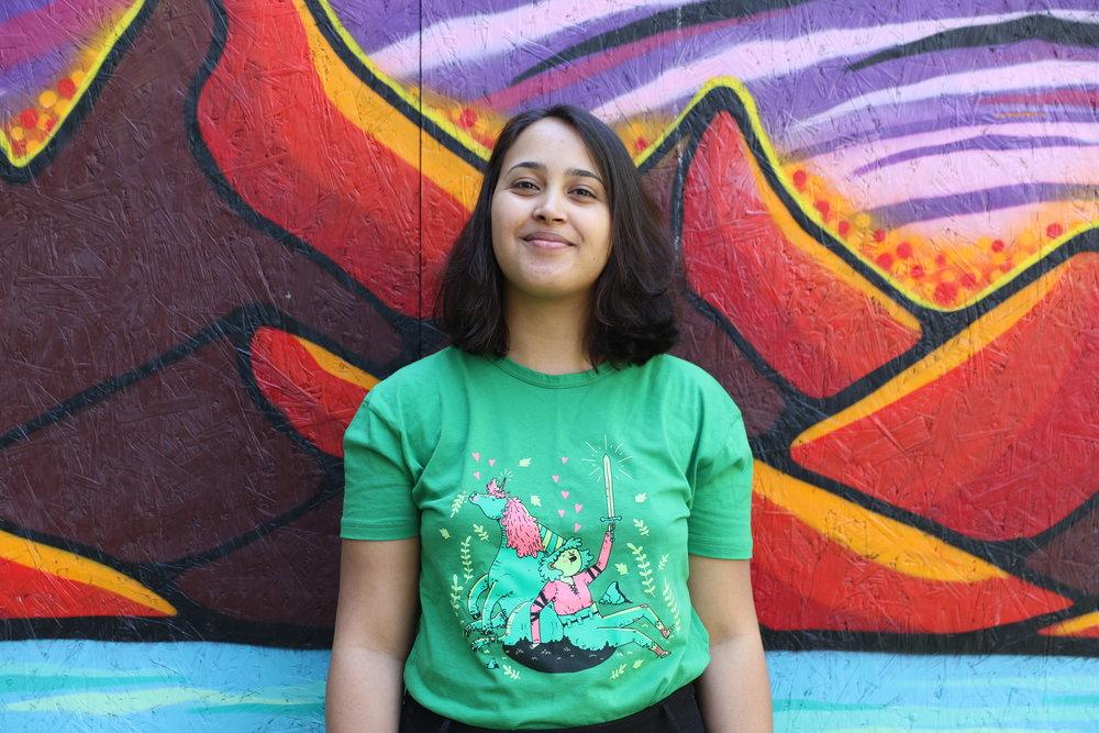 Habiba Stray er styreleder for de fantastiske fritidsinteressene. Foto Hyperion N4F