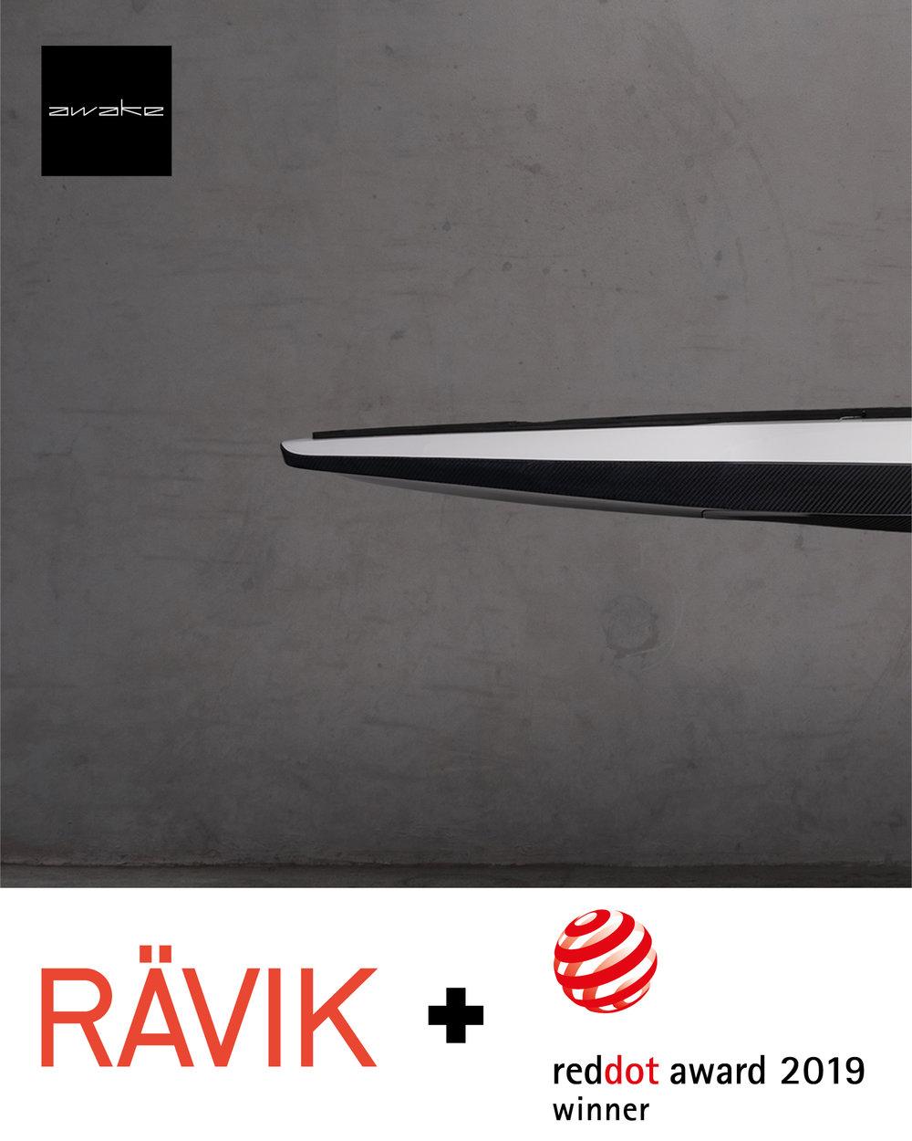 Awake Electric surfboard if design award
