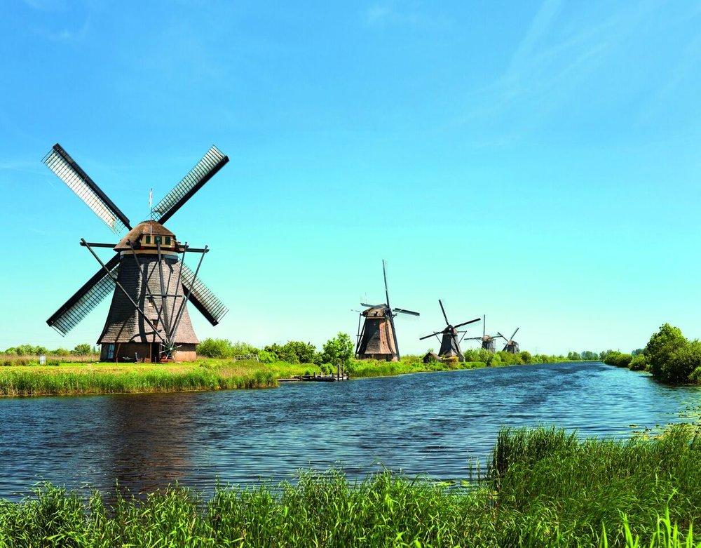 Windmühlen schauen!