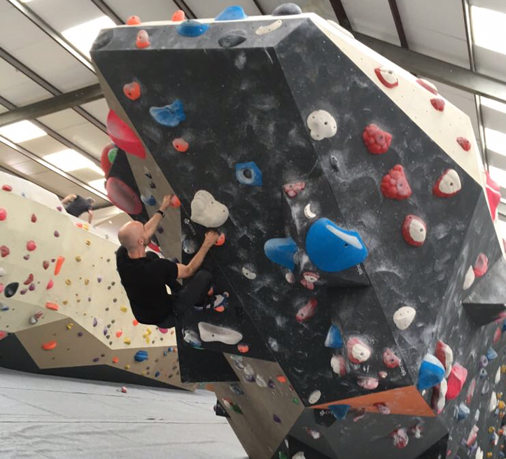 I recently tried climbing for the first time...so much fun!