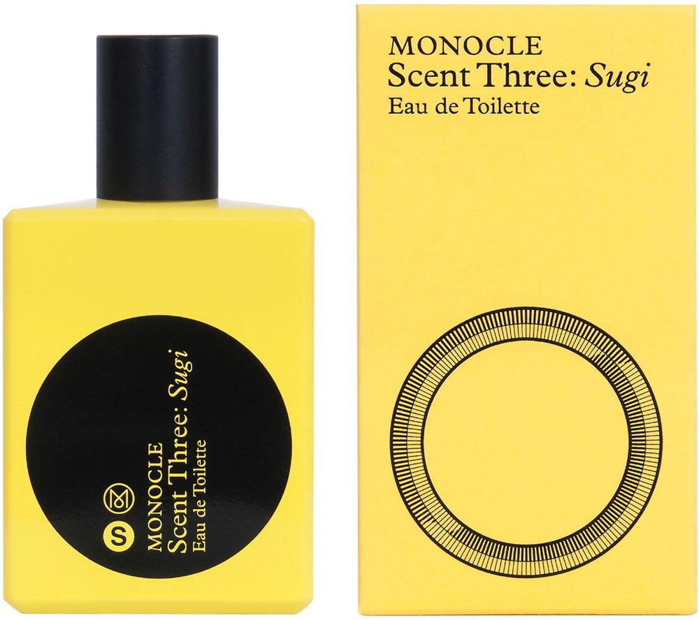 MONOCLE SCENT THREE SUGI - by Comme des Garçons