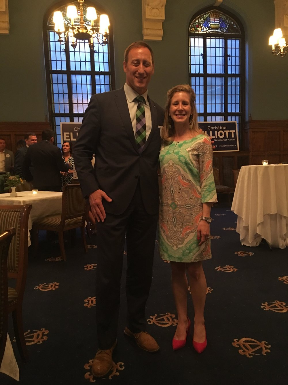 Peter MacKay - Former Minister of Justice & Attorney General, Foreign Affairs, and National Defence&Beaches-East York resident