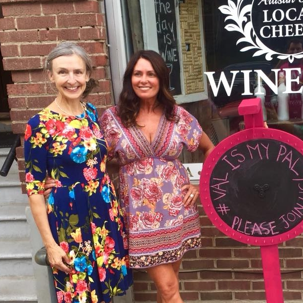 Krista Pollett - Owner of Corks & Platters Wine Bar, Queen St. East