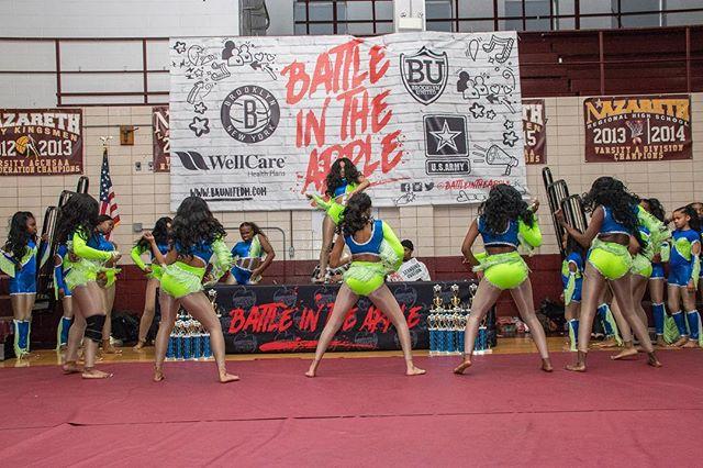 The dance teams came and slayed at #BITA19 #battleintheapple #brooklyn #nyc