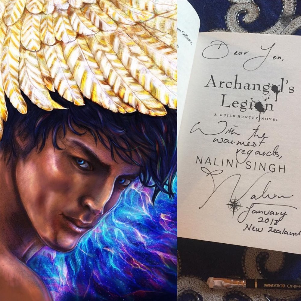Artwork inspired by Nalini Singh's Archangel book series